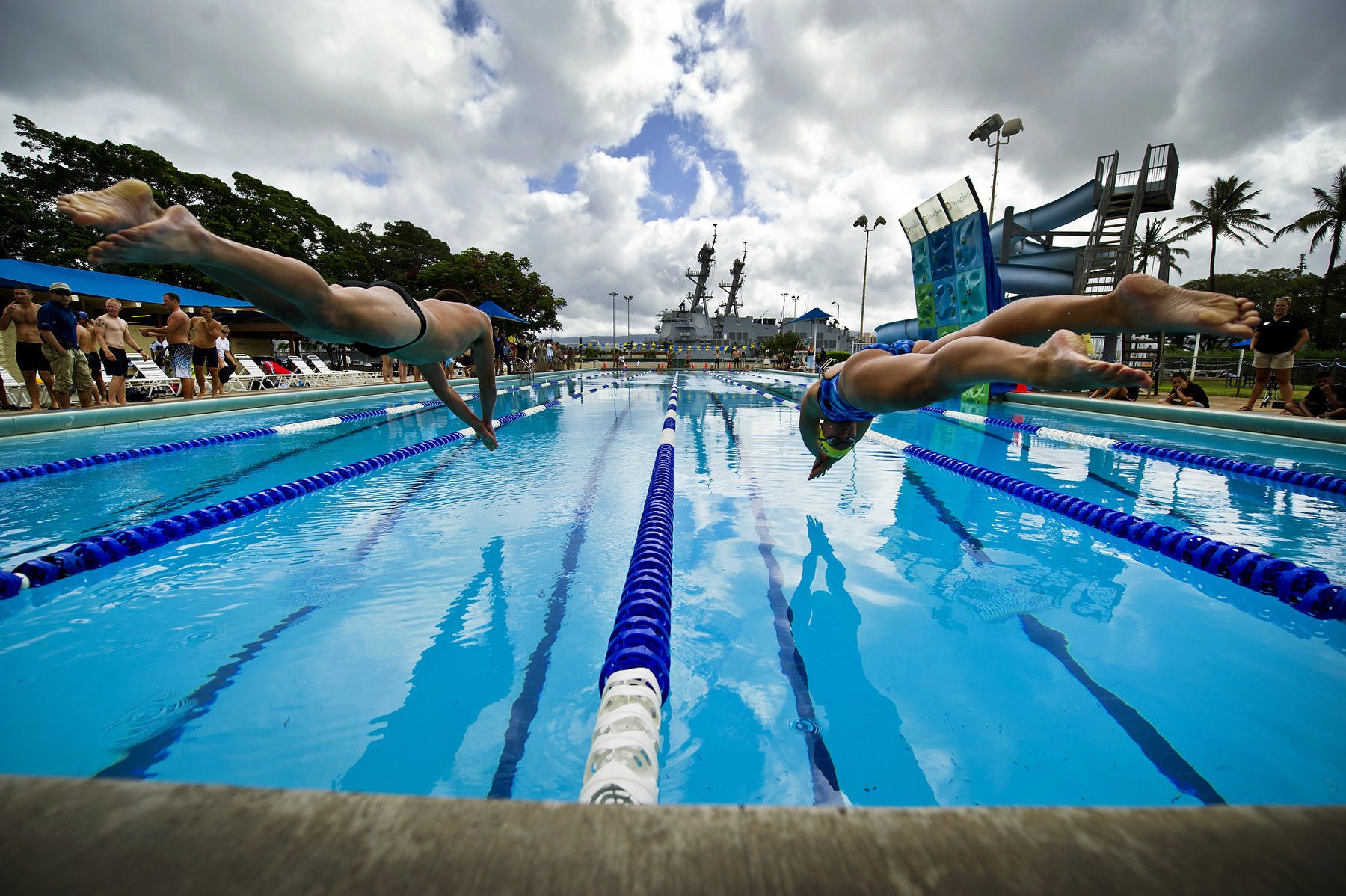 RIMPAC international swim meet